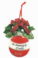 Order Your Memory Ornament