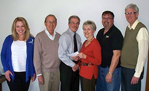 Making Spirits Bright Donates $1000 to Meals on Wheels